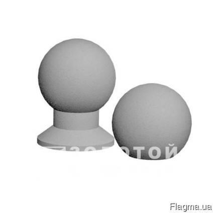 Антипарковочні Сфери шліфований 600х400 белий