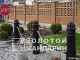 Антипарковочний стовп Зірка черний - фото 1