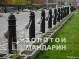 Антипарковочний стовп Зірка черний - фото 2