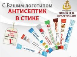 Антисептический гель в стике с логотипом, Антисептик гель д