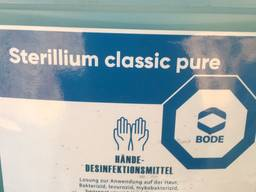 Дезинфектор антисептик стериллиум германия