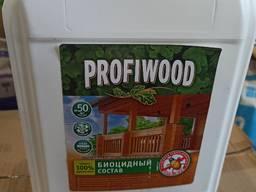 """Антисептик для дерева Profiwood """"Антижук"""" 5 л"""