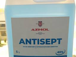 Антисептик спиртовой для кожи и рук Antisept 5 л
