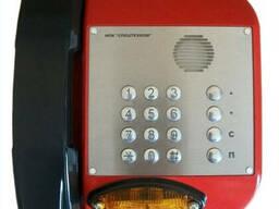 Антивандальный всепогодный телефонный аппарат БТА-05.