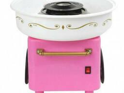 Аппарат для приготовления сладкой ваты на колесах Carnival NY-C450 Pink