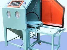 Аппарат для стеклоструйной очистки металла