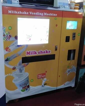 Аппарат по изготовлению мороженого и молочных коктейлей.