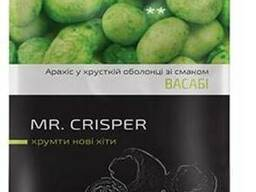 Арахис кранч в хрустящей чипсовой оболочке со вкусом васаби