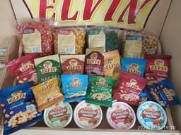 Арахіс та арахісова паста зі смаками TM Elvin. Запрошуємо до співпраці.