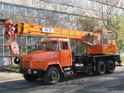 Аренда автокрана 14 и 25 тонн в Киеве.