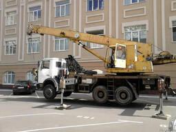 Аренда автокрана Киев. Аренда автокрана 25 тонн Киев.