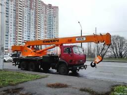 Аренда автокрана Киев, монтаж плит перекрытий