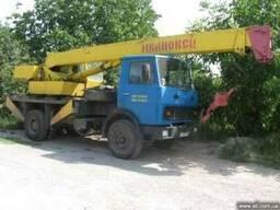 Аренда автокрана в Харькове