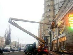Аренда автовышки 22 м киев - фото 2