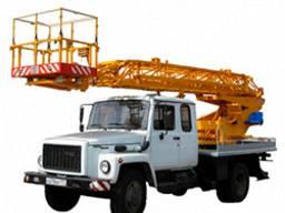 Аренда автовышки АП-18 метров