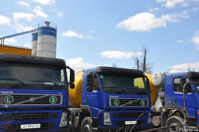 Бетон з доставкою в м. Київ та Кіївської області