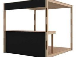 Аренда деревянного модуля, киоска