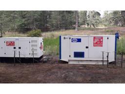 Аренда дизельного генератор 110 кВА/ 88 кВт, электростанция Р110-3
