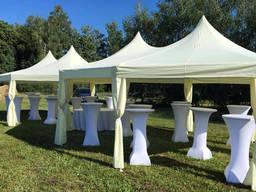 Аренда двухкупольных шатров для выездных церемоний