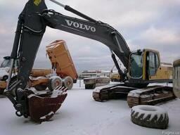 Аренда экскаватора Volvo 290