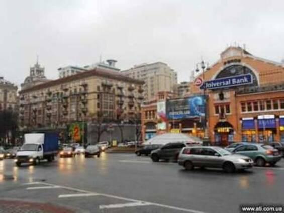 Аренда фасадного торгового помещения, Киев ул. Крещатик,