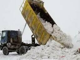 Вывоз снега Вышгород и область