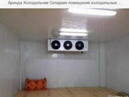 Аренда холодильных складских помещений, холодильников