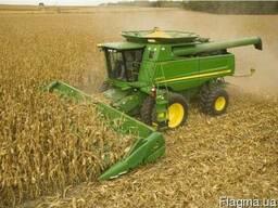 Аренда комбайна на уборку кукурузы