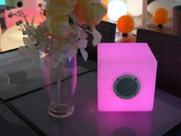 Аренда LED мебели, святящихся ЛЕД кубов, LED столов, стульев