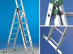 Аренда лестницы трехсекционной