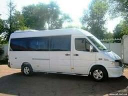 Аренда микроавтобусов с водителем по Киеву и Украине.