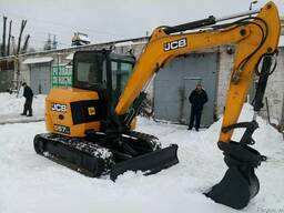 Аренда мини-экскаватора JCB 57 С-1