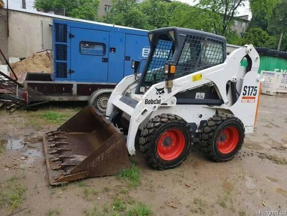 Аренда мини-погрузчика Bobcat S175