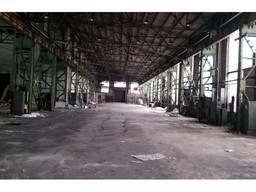 Аренда производственного помещения 1800м2 с кран-балкой