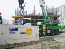 Аренда, прокат дизельных генераторов от 16 кВт - 560 кВт