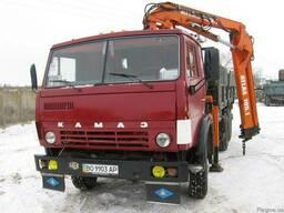 Аренда Самосвал с манипулятором Atlas КАМАЗ 13 тонн