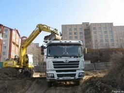 Аренда Самосвал Shaсman 25 тонн