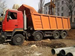Услуги, аренда самосвала 30 тонн, МАЗ, 20 кубов (20м3), 8х4
