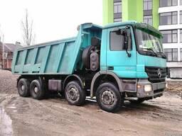 Песок, бой кирпича, вторичный щебень с доставкой Киев и область