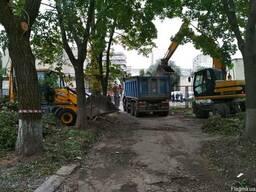 Аренда самосвалов 30т Киев. Вывоз грунта Киев.