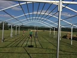 Аренда классических шатров для проведения Дня Поля в Днепре