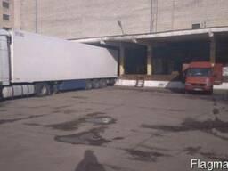 Аренда склада 2500 м2 на рампе Днепровский р-н