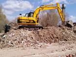 Услуги по очистке территорий уборке вывозу строительного мусора строймусора - фото 2