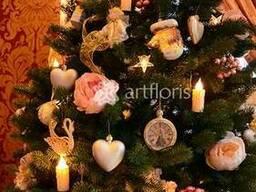 Аренда украшенной елки, красивая елка напрокат в Киеве