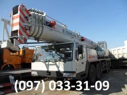 Аренда, услуга гидравлического 50 тонного автокрана Zoomlion