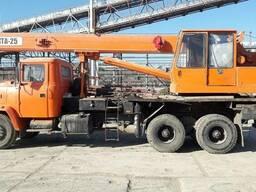 Аренда. Услуги авто крана 25 тонн, длина стрелы 21, 7 метр