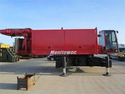 Аренда, услуги гусеничного крана manitowoc 555, г/п 130 тн.