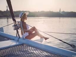 Аренда яхты | Прогулки на яхте по Днепру в Киеве - фото 4