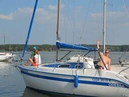 Аренда яхты, прогулки на яхте, в Харькове, Старом Салтове.