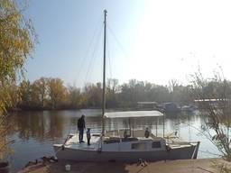 Аренда яхты в Днепре | Яхта-катамаран для 17-ти гостей
